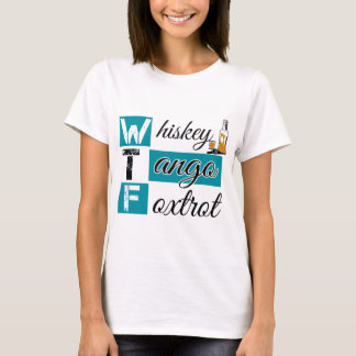 Camiseta O tango do uísque Foxtrot