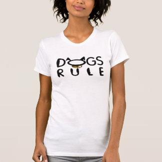 Camiseta O tanque das mulheres da regra dos cães