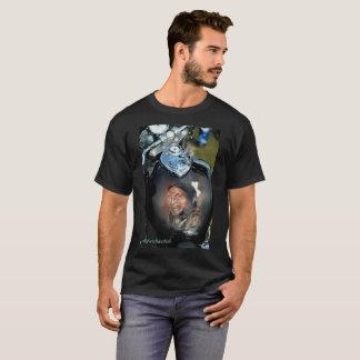 Camiseta O tanque de gás com projeta o indiano americano