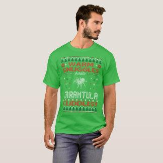 Camiseta O Tarantula morno dos Snuggles afaga o T feio do