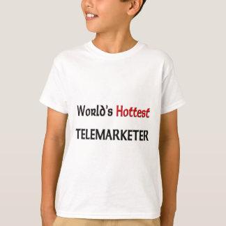 Camiseta O Telemarketer o mais quente do mundo