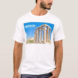 Camiseta O templo do olímpico Zeus em Atenas, piscina