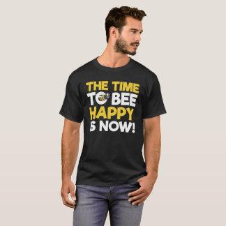 Camiseta O tempo à abelha feliz é agora!