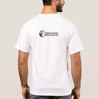Camiseta O tempo está funcionando para fora com logotipo