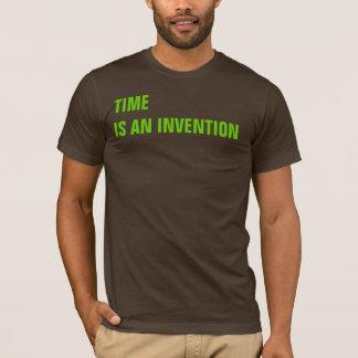 Camiseta O TEMPO está UMA INVENÇÃO