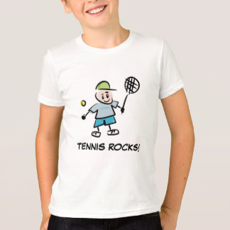 Camiseta O tênis veste-se para o tshirt dos meninos dos
