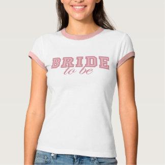 Camiseta O time do colégio cor-de-rosa fresco Noiva-À-Está