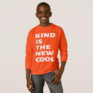 Camiseta O tipo é o novo esfria