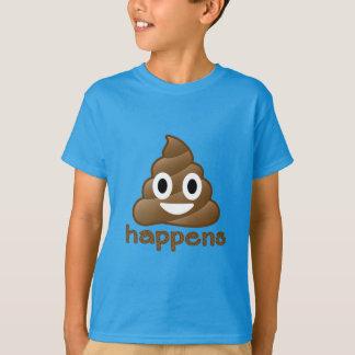 Camiseta O tombadilho de Emoji acontece