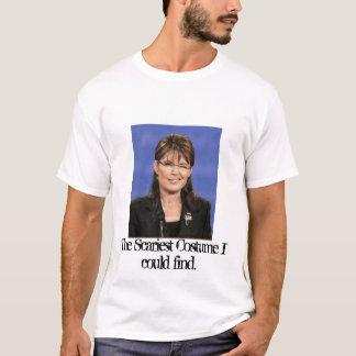 Camiseta O traje que o mais assustador eu poderia encontrar