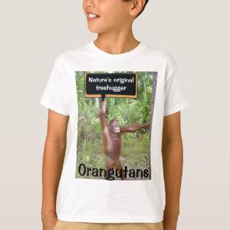 Camiseta O Treehugger original da natureza