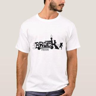 Camiseta O trem Nuff de Brock disse o t-shirt