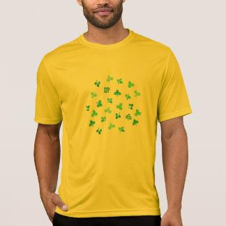 Camiseta O trevo sae do t-shirt dos esportes dos homens