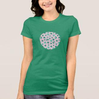 Camiseta O trevo sae do t-shirt favorito do jérsei das