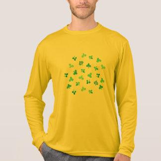 Camiseta O trevo sae os esportes dos homens do t-shirt