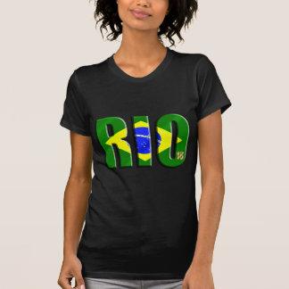 Camiseta O tributo   de Rio ventila presentes e a
