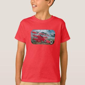 Camiseta O triplane do Fokker do Baron vermelho