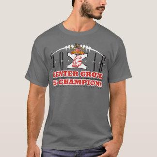 Camiseta O Trojan Horse Center do bosque 2016 patrocina o T