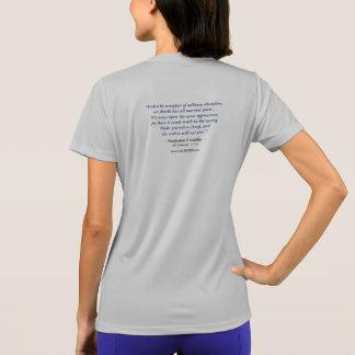Camiseta O Tshirt das mulheres de Calpeper® (Franklin 01)