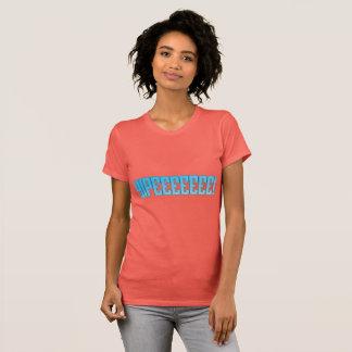 Camiseta O Tshirt das mulheres de Yipeeeeeee