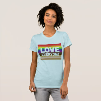 Camiseta O Tshirt das mulheres do amor todos