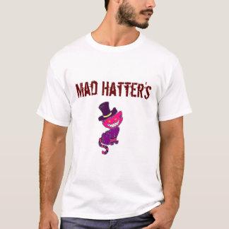 Camiseta O Tshirt do Hatter louco dos homens