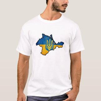 Camiseta O Tshirt dos homens de Crimeia do ucraniano