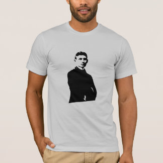 Camiseta O Tshirt dos homens de Kafka