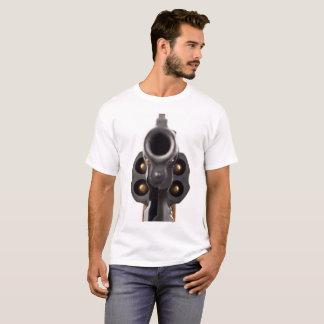 Camiseta O Tshirt especial do revólver da polícia grande