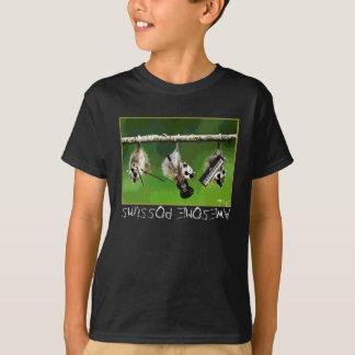 Camiseta o tshirt impressionante dos gambás