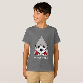Camiseta O tubarão cúbico come o Tshirt dos miúdos do