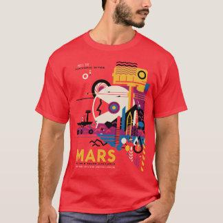 Camiseta O turismo de espaço de Marte do planeta