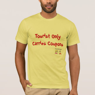 Camiseta O turista leva somente o t-shirt dos vales