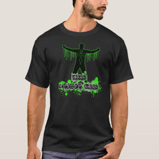 Camiseta O um t-shirt ácido