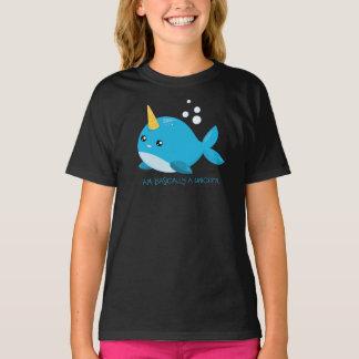 Camiseta O unicórnio do mar caçoa o t-shirt