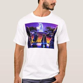Camiseta O unicórnio e o feiticeiro