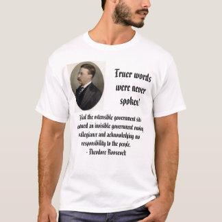 Camiseta O ursinho R, um wordswere mais verdadeiro