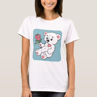 Camiseta O urso de ursinho com aumentou