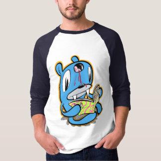 Camiseta O urso do macarronete lê