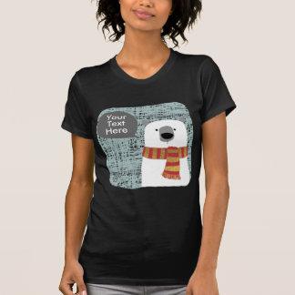 Camiseta O urso polar do desenho de Digitas, cria seu