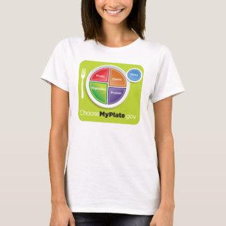 Camiseta O USDA escolhe minha placa