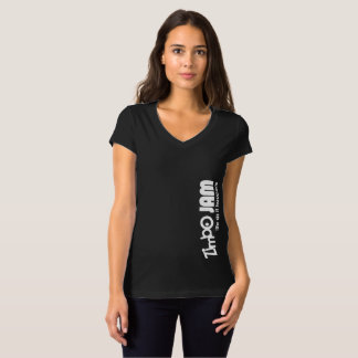 Camiseta O V das mulheres do doce de Zimbo - bella do