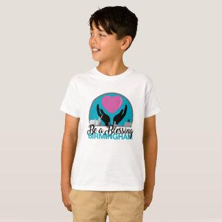 Camiseta O valor dos miúdos seja um t-shirt da bênção