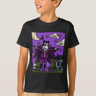 Camiseta O vampiro caçoa o t-shirt