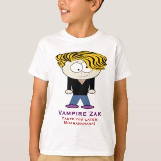Camiseta O vampiro Zak, prova-o mais tarde