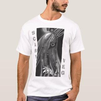 Camiseta O veg assustador traça a vingança da raiz