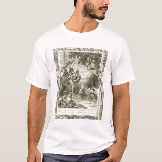 Camiseta O velo dourado ganhado por Jason (gravura)