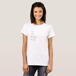 Camiseta O verbo ler conjuga-se único ou à vários