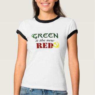 Camiseta O verde é o vermelho novo