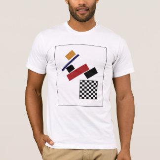 Camiseta O verificador super, após Malevich